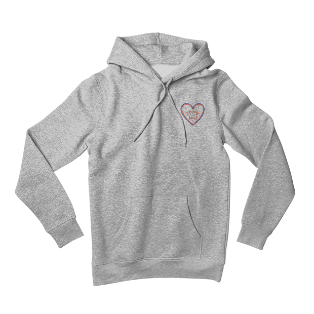 SWEAT A CAPUCHE GRIS YOUNG HEART