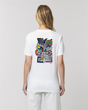 T-SHIRT UNISEXE IMAGINE - BLANC
