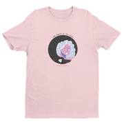 T-SHIRT UNISEXE POWER OF THE MOON - ROSE