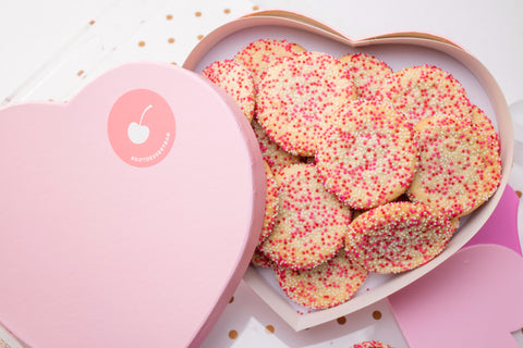 Large Heart - Cookie Box