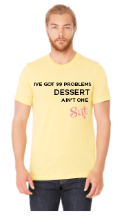 99 Problems T-Shirt - Yellow