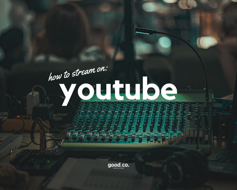Live Streaming Tools: YouTube