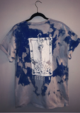Excuse Me. | Blue Acid Wash T-Shirt