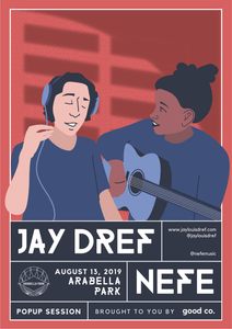 Concert Print: August 13th, 2019 - Arabella Park Beer Bar