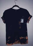 Excuse Me. | Black Acid Wash T-Shirt