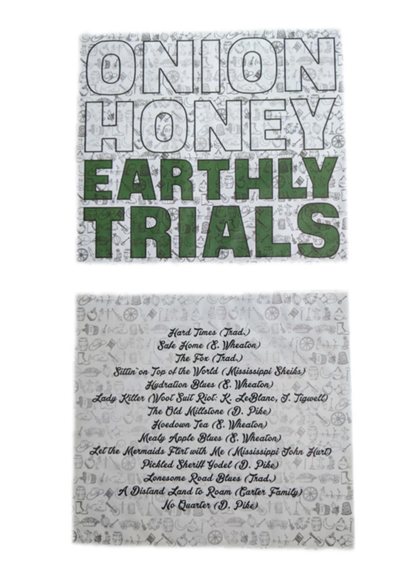 'onion honey earthly trials' CD
