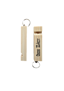 Onion Honey wooden Train Whistle Keychains