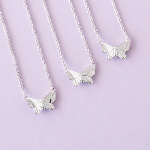 Bowerbird Australia - Butterfly - Short Necklace