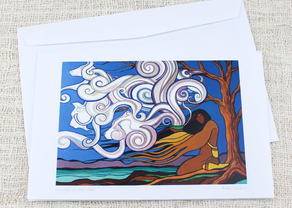 Smudge au lac, cartes de souhaits - Boutique Equinoxe