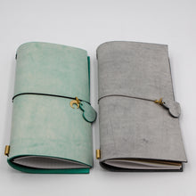 Load image into Gallery viewer, CHOU My Own Journal Italian Vegetable Tanned Leather Planner