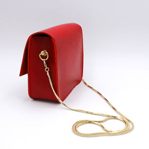 CHOU Classical Italian Vegetable Tanned Leather Hand Bag