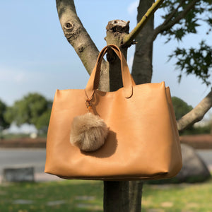CHOU Tote Bag 100% Handmade Leather