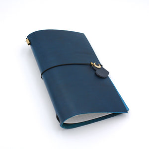 CHOU My Own Journal Italian Vegetable Tanned Leather Planner
