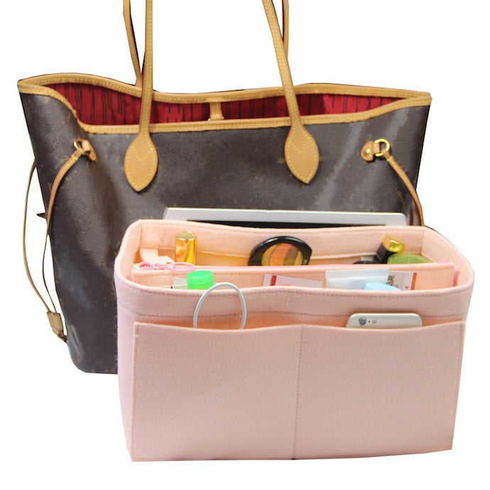 Exclusive Customizable Felt Handbag Organizer Bag