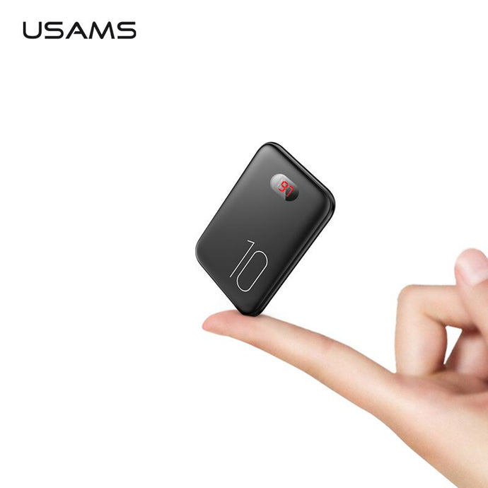 USAMS Mini Power Bank 10000mAh LED