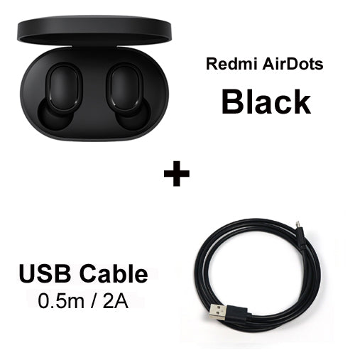 Redmi Airdots Wireless Earphones | Voice Control Bluetooth Low Noise