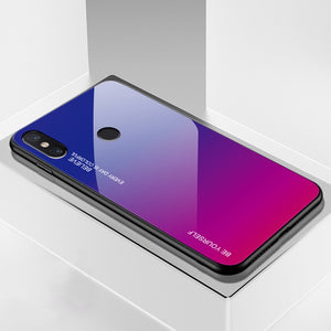 Xiaomi  Phone Case | Gradient Tempered Glass