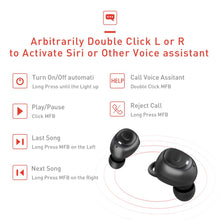 Load image into Gallery viewer, Mini Wireless Earbuds In-ear Bluetooth Earphone Waterproof Rechargeable Headset