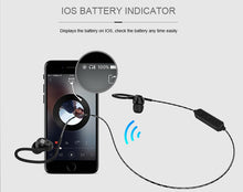Load image into Gallery viewer, Sports Bluetooth Earphone BS80 portable super Bass with Microphones Wireless gaming Headset for music
