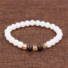 Load image into Gallery viewer, Natural White Chalcedony Positivity Bracelet