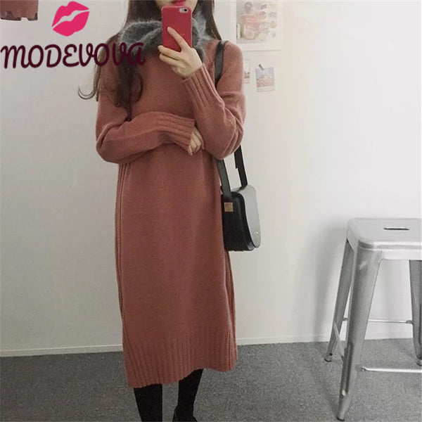 10 Trendy Sweater Dress Outfit  for women This  Autumn or Winter