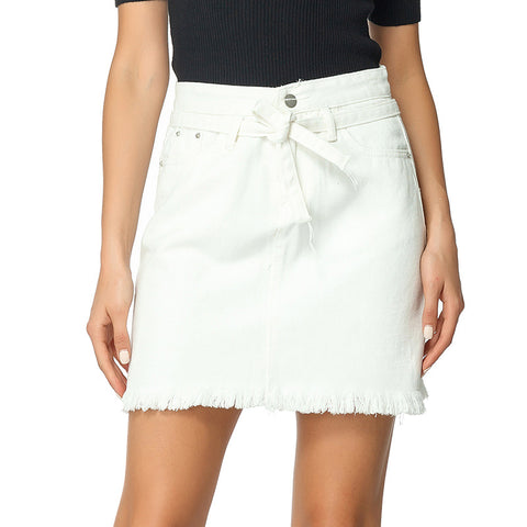 2020 Summer Denim Big Size Loose Skinny Skirt