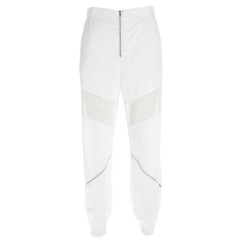 2020 Summer Hollow Out Solid color  Streetwear  Style Trousers