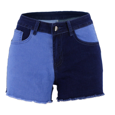 2020 Denim Cloth Tight Lifting Buttocks Denim Shorts