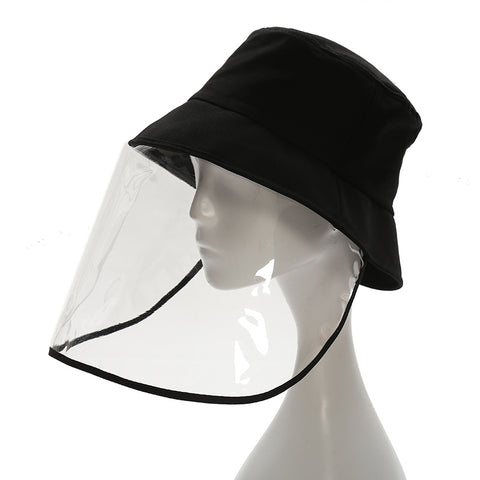 New epidemic-proof fisherman hat Korean version of PVC shield anti-dropo virus hat sun hat men and women general custom