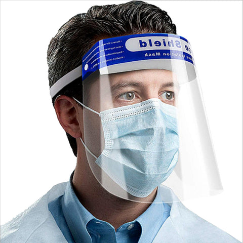 special wearing transparent protective mask