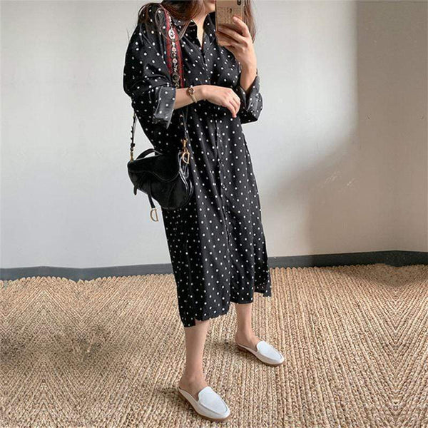 Sexy Casual Loose Printed Long Sleeves Shirt