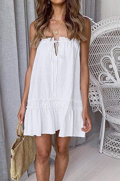 Fashion Off Shoulder Casual Dress