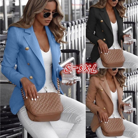 2020 Work Suit Women's Jacket Female Office Lady Formal Women Blazers and Jackets Female Blazer Femme