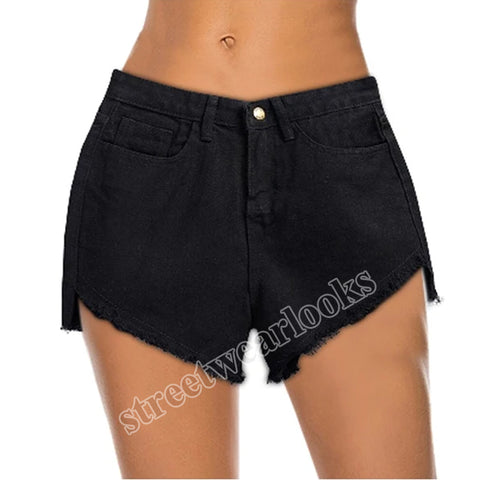 Caual Summer Ladies Shorts Jeans