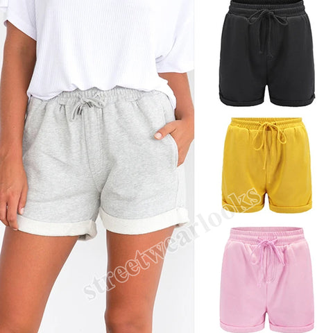 Fashionable Summer Curly Edge Tourism Holiday Sweater Shorts Hot