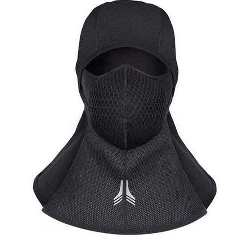 Motorcycle Face Mask Winter Thermal Balaclava Moto Moto Headwear Windproof Warm Face Masks Neck Lycra Fleece Scarfs Ski Headgear
