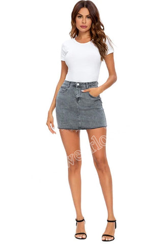 Reality Pats 2020 New Slim Jeans Skirt