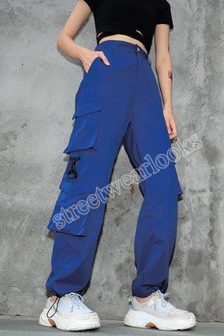 Streetwearlooks Solid  Color Street Trendy Trousers