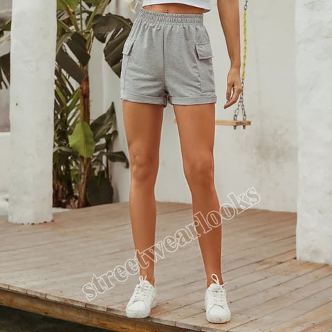 Stylish Free-riding Casual High-Waisted Shorts