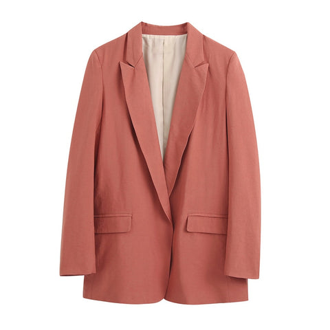 Women Blazer 2020 Formal Blazers Lady Office Work Suit Pockets Jackets Coat Women Blazer Femme Jackets