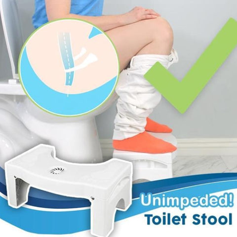 Multi-Function Folding Toilet Stool Anti Constipation  Portable Step for Home