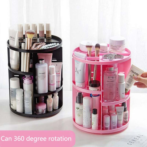 New Fashion 360-degree Rotating Makeup Organizer