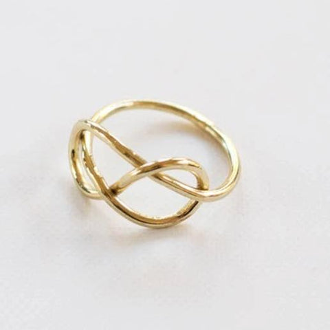 Top Knot Ring - Gold