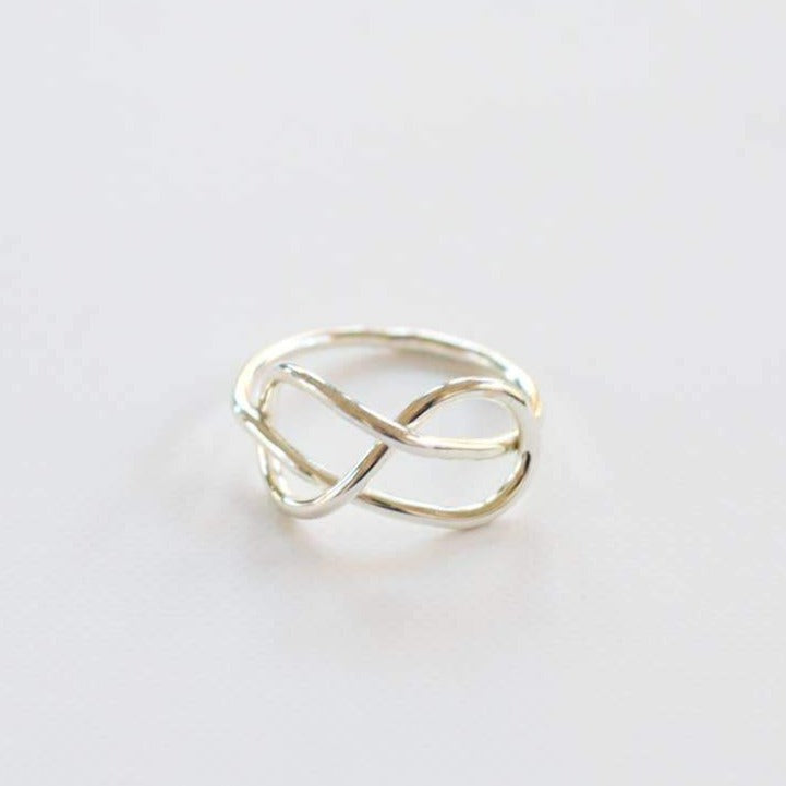 Top Knot Ring - Silver