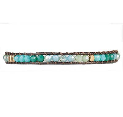 Alani Crystal Bracelet - Sea