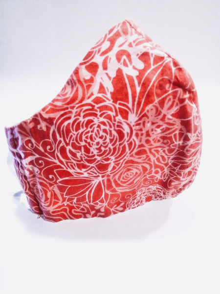 Reusable Face Mask - Pink Floral