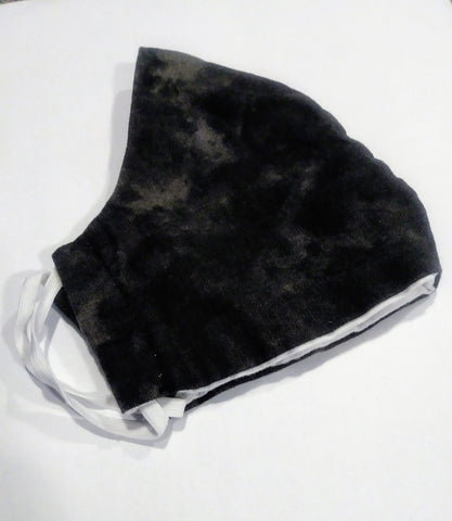 Reusable Face Mask - Black Granite