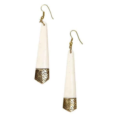 Anika Earrings - Tapered