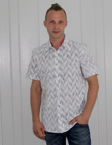 Sparrow Button Down Organic Cotton Shirt