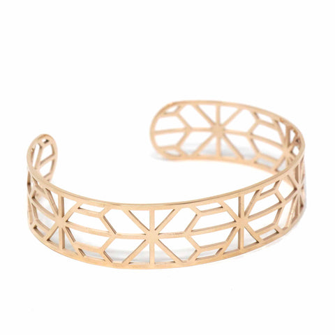 Kathleen Rose Gold Star-shaped Bracelet
